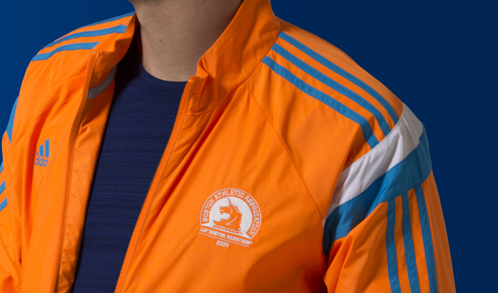 2014 Boston Marathon adidas Celebration Jacket