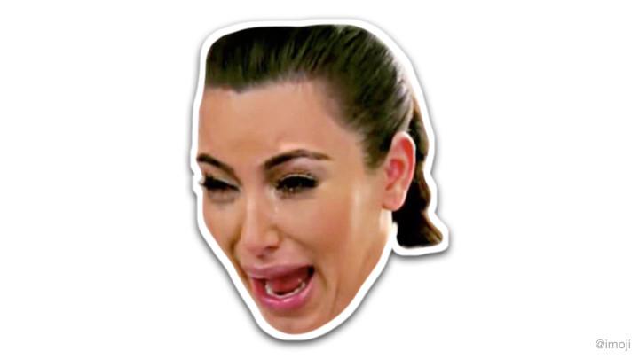 Kanye West and Kim Kardashian Stickers on imoji   Complex