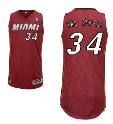 timeless design aeba7 8f16c Gallery: What the Heat v. Nets Customized Jerseys Should ...