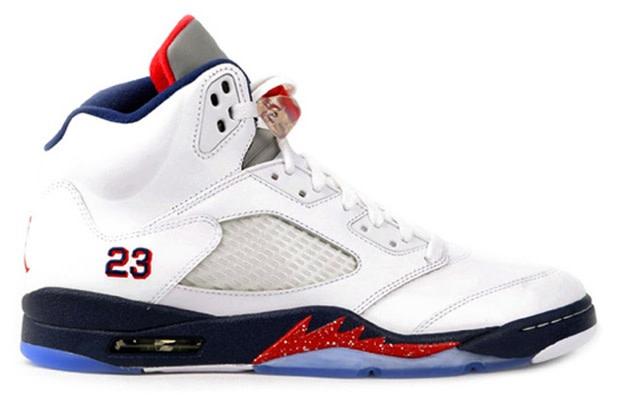 4ef305130ac Air Jordan 5 Retro. Release Date: 7/2/2011. Style Code: 136027-103.  Colorway: White/Varsity Red-Obsidian