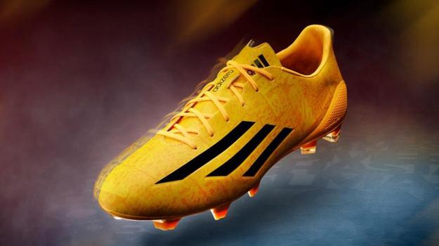 5fde8ac55 adidas Unveils New Version of Lionel Messi's Signature adizero F50 Cleat.  Daniel Mitchell. ByDaniel Mitchell. Aug 01, 2014. adidas_messi_cleat_lead