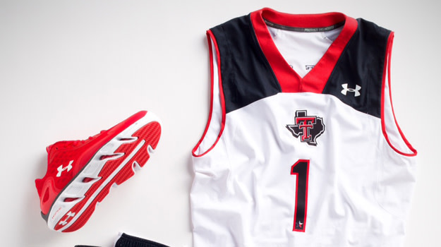 "deaa65ef85e Yesterday, we got a look at USF's ""So-Flo"" basketball uniforms from Under  Armour. Today, it's the Texas Tech Red Raiders whos are showing off a new  on-court ..."