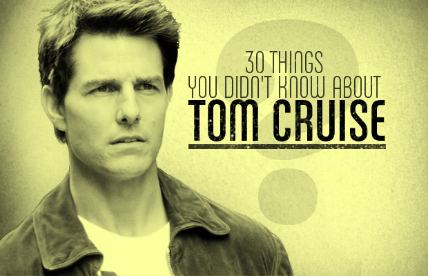 a65378d12b7 30 Things You Didn't Know About Tom Cruise | Complex