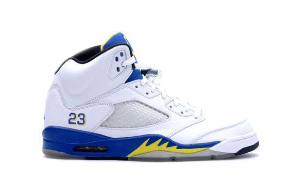 Air Jordan II Melo White, Sky Blue, and Yellow . I got em