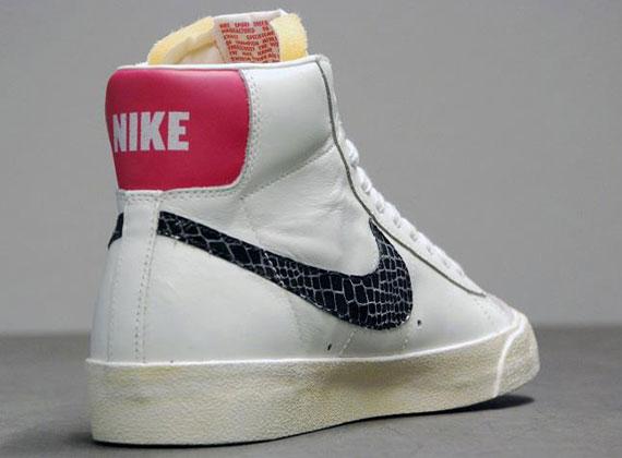 nike sneaker blazer mid prm vntg suede