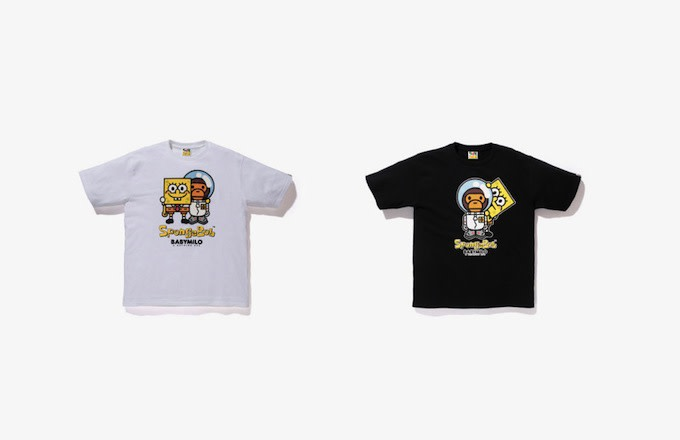 9b265b62 A Bathing Ape Makes a Visit to a Pineapple Under the Sea With Its Latest  Collab