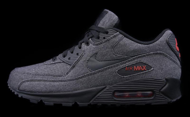 outlet store 54c4b 4276e About a month ago we showed you these, now Nike comes back with another  sick version of a denim Air Max 90. The sneaker uses a dominate denim upper  versus ...