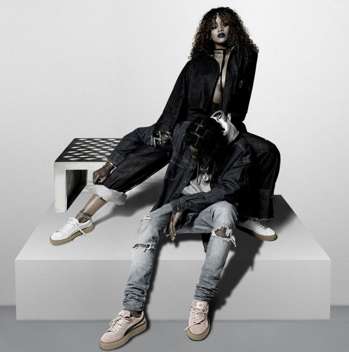 new product 34e77 1ec07 Rihanna x Puma Suede Creeper New Colorways and Men's Sizes ...