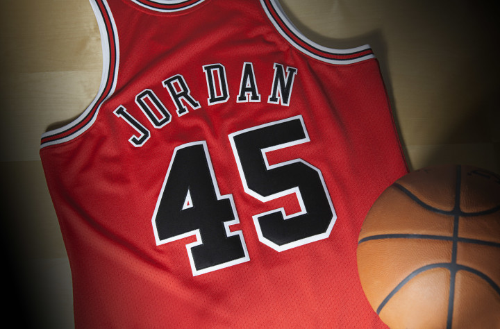 info for fd022 67d0e Michael Jordan's No. 45 Bulls Jersey Is Available For the ...