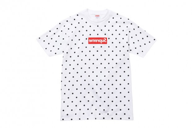 4473f4012527 Over the weekend a collaboration between Supreme and Rei Kawakubo's COMME  des GARCONS SHIRT was announced. Here's a closer look at what we can expect.