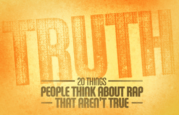 20 Things People Think About Rap That Aren't True | Complex