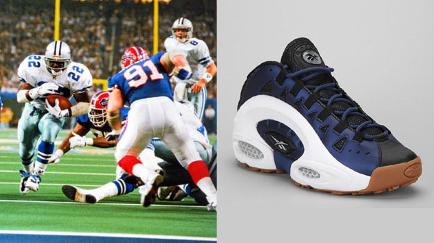 purchase cheap a323a fb74d Today in Performance Sneaker History  Emmitt Smith Wins SuperBowl ...