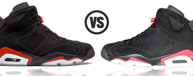check out 2857f 211eb Who Did It Better? Jordan Retro VI