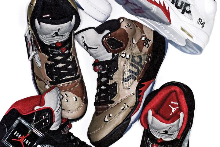 Supreme x Air Jordan V