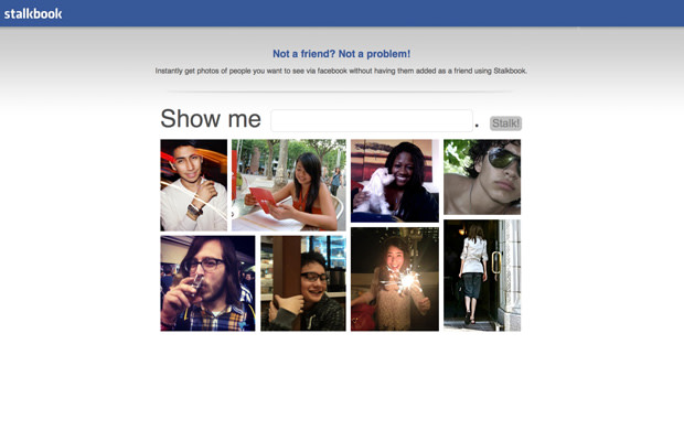 Stalkbook Lets You View Anyone's Facebook Info, Even if You