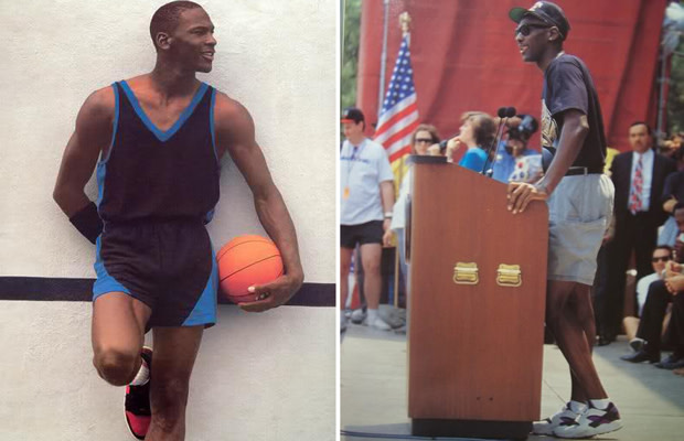 25d7d08e36b Michael Jordan's on-court sneaker game is unrivaled by any other player to  ever play the game — it's this very reason that fans of MJ and his  signature ...