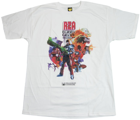 356a835a Bobby Digital Graphic T-shirt, Photo from The Wu Tang Brand
