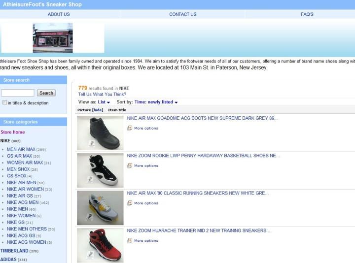 The 10 Best eBay Sneaker Stores   Complex