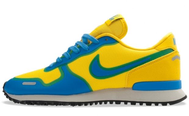 Nike Air Vortex shoes blue yellow