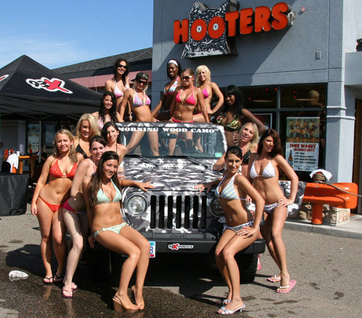 25 Photos of Hooters Girls and Cars | Complex