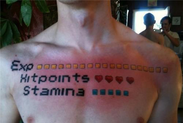 The 25 Most Cringe Worthy Video Game Tattoos Ever Complex