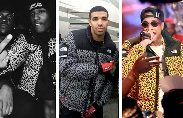 99da8aee1 Trend Watch: Drake, A$AP Rocky And Tyga Rock Supreme x The North ...