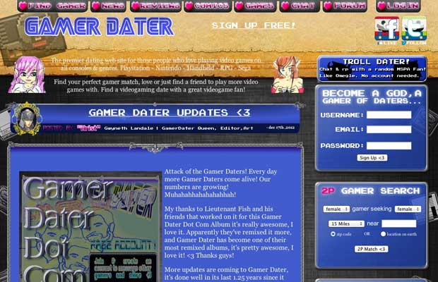 Gamers datant site Web lesbiennes en ligne rencontres profils