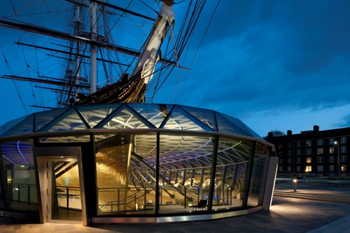The Cutty Sark Sailboat By Grimshaw Architects | Complex