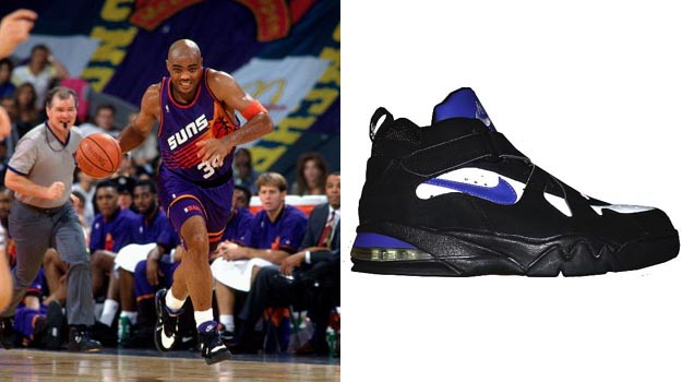 new concept f7953 78844 Today in Performance Sneaker History  Charles Barkley Leads Suns to ...