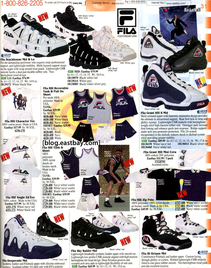 best service 9e171 23c9e 25 Classic Sneakers From Vintage Eastbay Catalogs | Complex