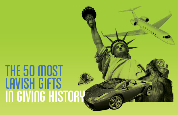 The 50 Most Lavish Gifts in Giving History | Complex