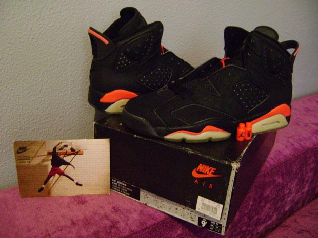 best loved 6afa0 4deba Deadstock OG Nike Air Jordan VI