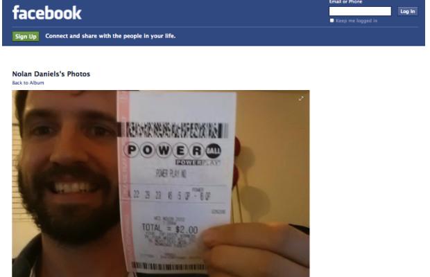 Fake Powerball Winner Fools Millions On Facebook   Complex