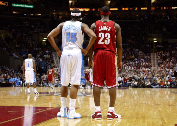 bdd81b8174d The Complete Footwear History of LeBron James vs. Carmelo Anthony ...