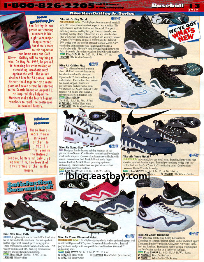 best service c9b56 4c724 25 Classic Sneakers From Vintage Eastbay Catalogs | Complex