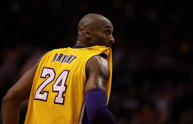 new product c1f14 eb746 Kobe Bryant Reveals the Gross Reason Why He Chews On His ...