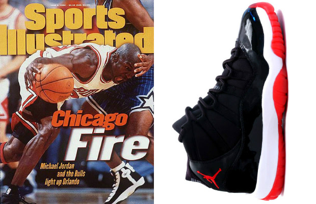 eeb5520f92712 A Complete Sneaker Guide To Michael Jordan's Sports Illustrated ...