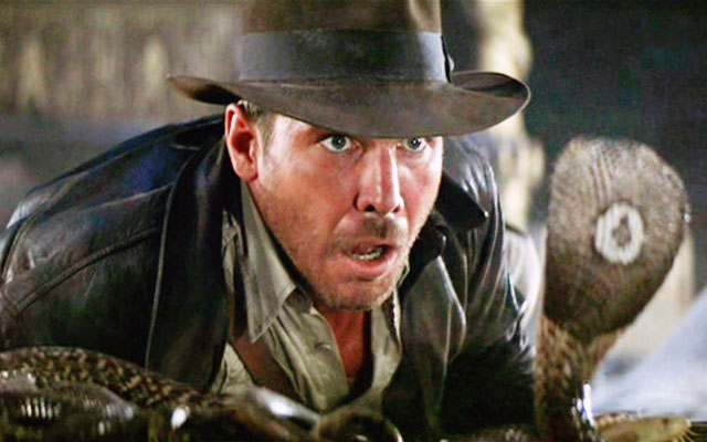 Harrison Ford is Totally Cool with Snakes, Unlike Indiana Jones | Complex