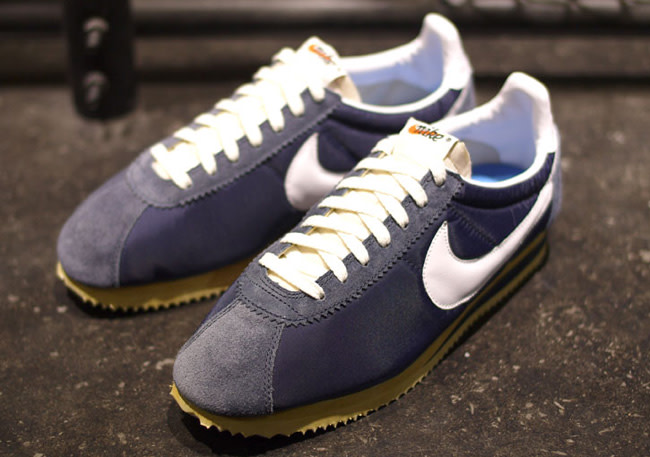 good special for shoe on feet shots of Nike Cortez Classic Nylon OG QS