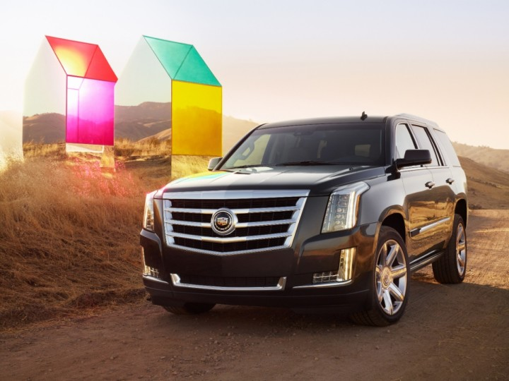 Official: The 2015 Cadillac Escalade Debuts in NYC | Complex