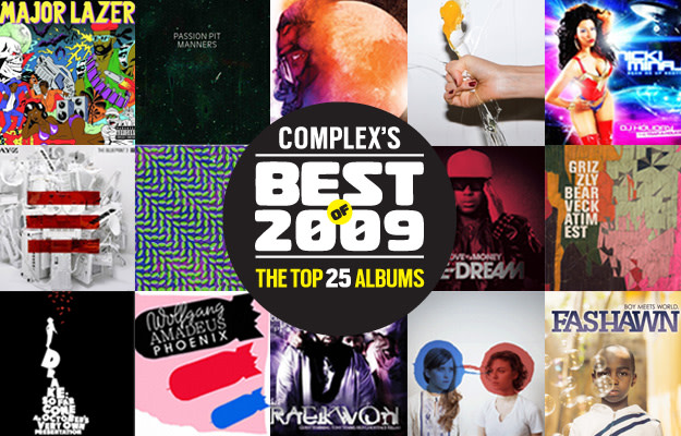 Complex's Best of 2009: The Top 25 Albums | Complex