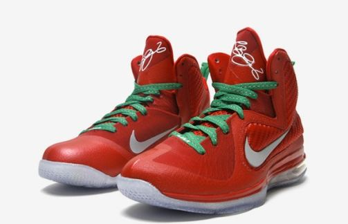 Christmas Lebron 9s.Kicks Deals Deal Of The Day Nike Lebron 9 Christmas