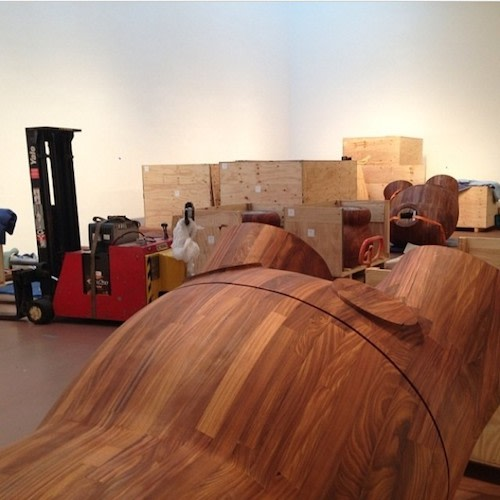 266cd11c One of KAWS' Massive Wooden Sculptures Is Going Home With Swizz ...