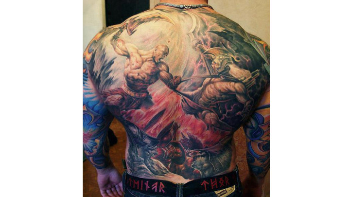 Bro Tastic God Of War Tattoo Is About As Impressive As