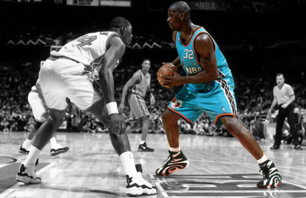 choose newest new style & luxury discount Gallery: 20 Iconic Images of Shaq in the Reebok Shaqnosis ...