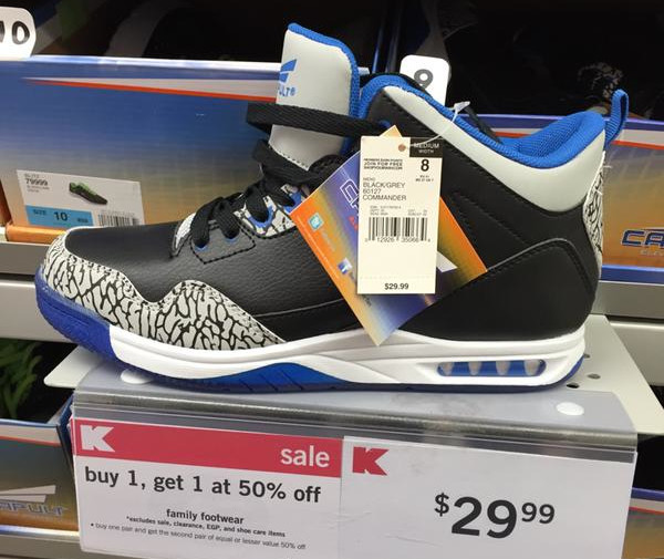 best website f55e1 c7e93 Image via Twitter. These Air Jordan knockoffs are ...