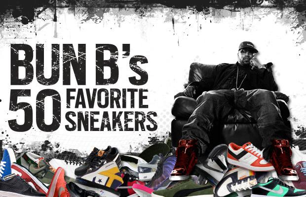 38f0f102372 Bun B's 50 Favorite Sneakers | Complex
