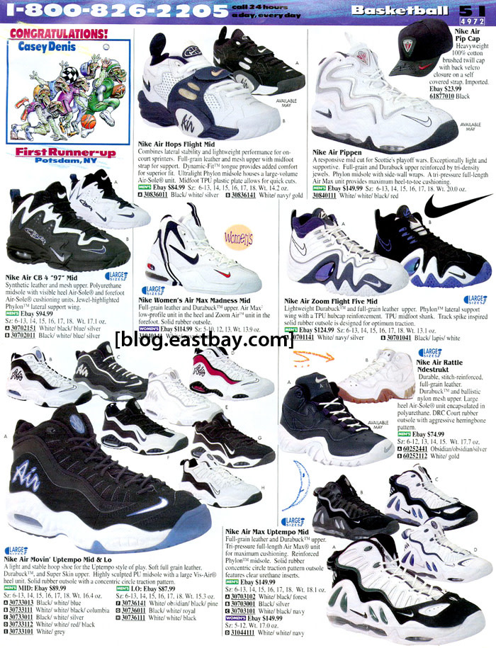 a17f86fcce 25 Classic Sneakers From Vintage Eastbay Catalogs | Complex