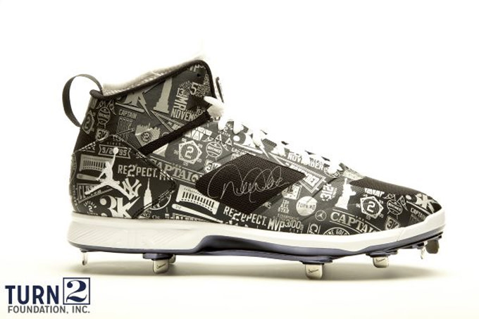 f1187c2068f Derek Jeter's Autographed Jordan Brand Cleats Are for Serious ...