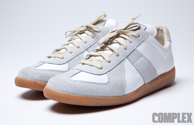 520fbc925e0 Maison Margiela Line 22 German Army Trainers vs. Bundeswehr BW Sport ...